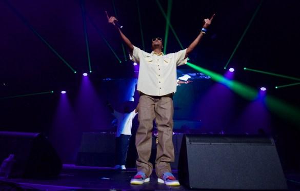 Bone Thugs-N-Harmony for 93.5 KDAY's Krush Groove @ The Forum 4/21/18. Photo by Derrick K. Lee, Esq. (@Methodman13) for www.BlurredCulture.com.