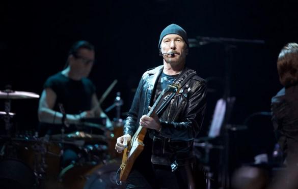 U2 @ The Forum 5/16/18. Photo by Derrick K. Lee, Esq. (@Methodman13) for www.BlurredCulture.com.
