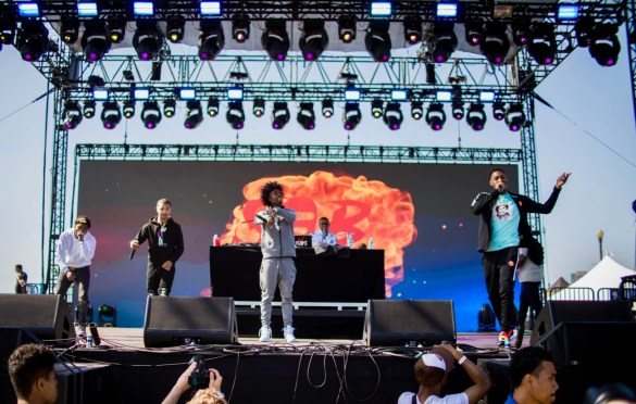 SOB X RBE @ The Smoker's Club Fest 4/28/19. Atmosphere. Photo by Markie Escalante (@Markie818) for www.BlurredCulture.com.