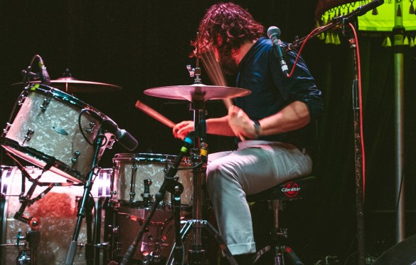 Born Ruffians at the Constellation Room 5/12/18. Photo by Hector Vergara (@theHextron) for www.BlurredCulture.com.