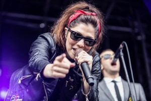 The Interrupters @ Punk in Drublic at Festival Pier (Philadelphia, PA) 3/13/17. Photo by Pat Gilrane Photo (@njpatg) for www.BlurredCulture.com.