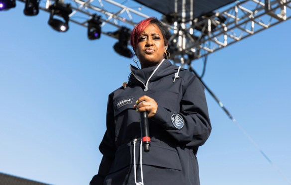 Rapsody @ The Smoker's Club Fest 4/29/19. Photo by Markie Escalante (@Markie818) for www.BlurredCulture.com.