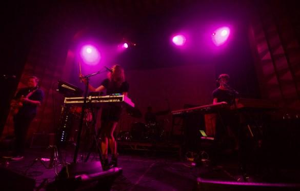 Clara-Nova @ The Regent Theatre for Broke L.A. 4/22/18. Photo by Derrick K. Lee, Esq. (@Methodman13) for www.BlurredCulture.com.