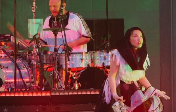 Little Dragon @ Hollywood Bowl 6/17/18. Photo by Steph Velastegui (@Stephtonesphoto) for www.BlurredCulture.com.