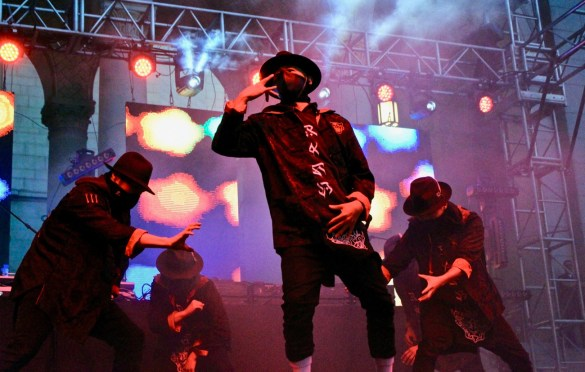 The Kinjaz at Identity L.A. 2018. Photo by Iris Chu (@hernameisiris) for www.BlurredCulture.com.