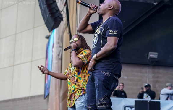 Too Short w/ Lil Jon @ Powerhouse 2018 @ The Glen Helen Amphitheater 5/12/18. Photo by Simran Singh (@dj.sim) for www.BlurredCulture.com.