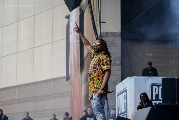 Lil Jon @ Powerhouse 2018 @ The Glen Helen Amphitheater 5/12/18. Photo by Simran Singh (@dj.sim) for www.BlurredCulture.com.