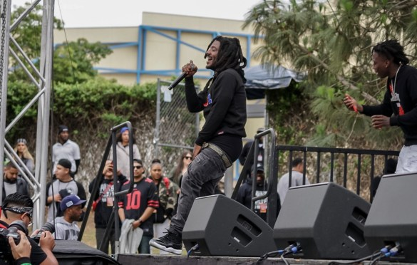 Mozzy @ Powerhouse 2018 @ The Glen Helen Amphitheater 5/12/18. Photo by Simran Singh (@dj.sim) for www.BlurredCulture.com.