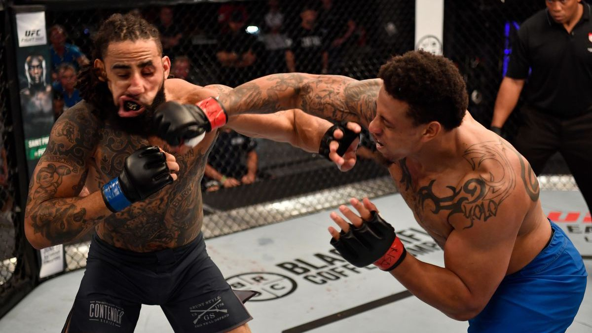 GREG HARDY Gets Brutal 1ST ROUND KO In First UFC Fight