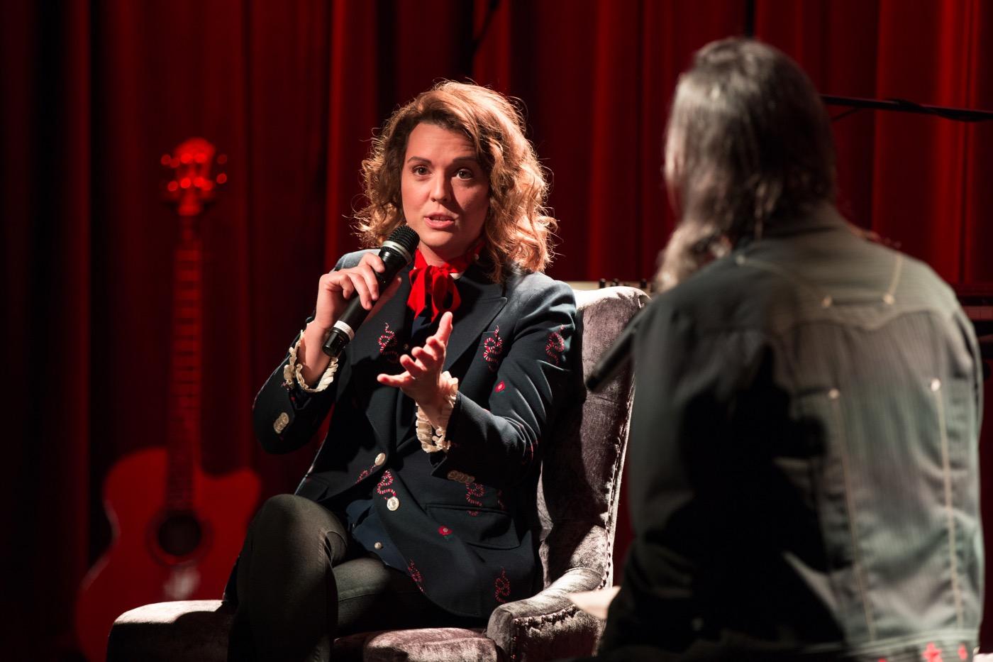 Brandi Carlile @ the Grammy Museum 7/12/18. Photo by Sonya Singh (@Sonyacansingh) for www.BlurredCulture.com.