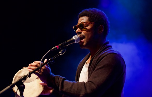 Curtis Harding @ El Rey 5/31/18. Photo by Derrick K. Lee, Esq. (@Methodman13) for www.BlurredCulture.com.