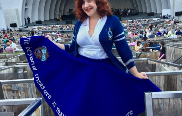 Harry Potter and the Goblet of Fire w/ The L.A. Philharmonic @ Hollywood Bowl 07/5/18. Photo by Rose Di Benedetto (@ radgeekyrose) for www.BlurredCulture.com.