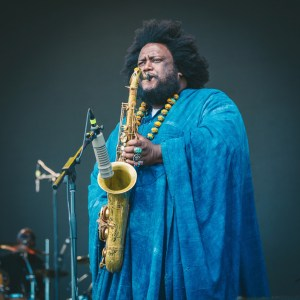 Kamasi Washington @ Arroyo Seco Weekend 6/23/18. Photo courtesy of Goldenvoice. Used with permission.
