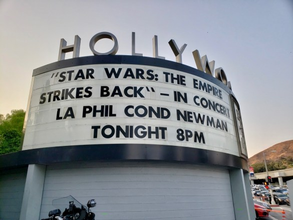 """""""Star Wars: The Empire Strikes Back""""- In Concert w/ Los Angeles Philharmonic conducted by David Newman 8/11/18."""