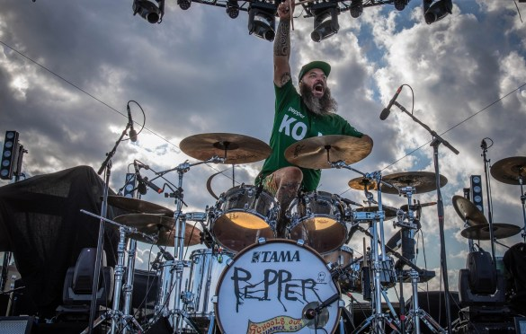 Pepper @ Stone Pony 7/29/18. Photo by Pat Gilrane Photo (@njpatg) for www.BlurredCulture.com.