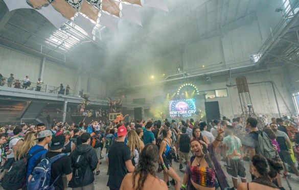 Elements Fest NYC 8/11/18. Rave Atmosphere. Photo by Dan Goloborodko (@golo_lifestyle) for www.BlurredCulture.com.
