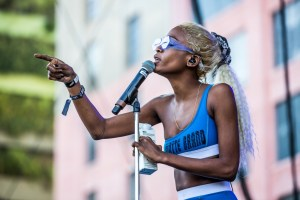 Abra for All My Friends @ Row DTLA 8/19/18. Photo by Derrick K. Lee, Esq. (@Methodman13) for www.BlurredCulture.com.