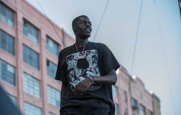 Sheck Wes for All My Friends @ Row DTLA 8/19/18.  Photo by Derrick K. Lee, Esq. (@Methodman13) for www.BlurredCulture.com.