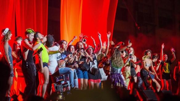 M.I.A. for All My Friends @ Row DTLA 8/19/18. Photo by Derrick K. Lee, Esq. (@Methodman13) for www.BlurredCulture.com.