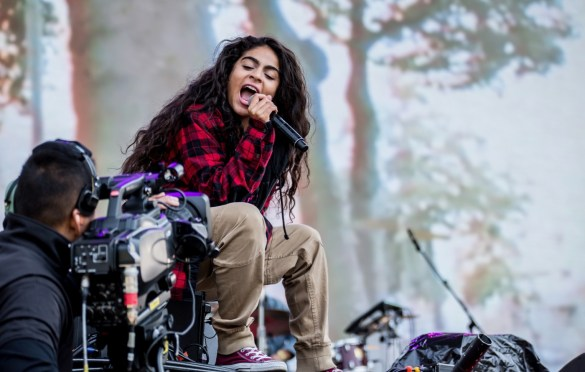 Jessie Reyez @ Outside Lands Music And Arts Festival 8/11/18. Photo by Derrick K. Lee, Esq. (@Methodman13) for www.BlurredCulture.com.