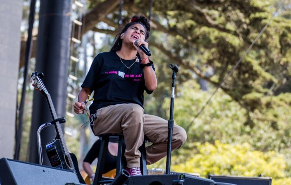 Jessie Reyez @ Outside Lands Music And Arts Festival 8/11/18. Photo by Derrick K. Lee, Esq. (@Methodman13) for www.BlurredCulture.com.