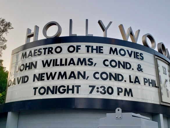 """""""Maestro of the Movies"""" @ Hollywood Bowl featuring John Williams, Cond. & David Newman, Cond. w/ L.A. Phil 9/2/18. Photo by Level With Music (@LevelWithMusic) for www.BlurredCulture.com."""
