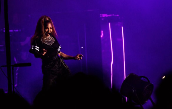 Janet Jackson @ Outside Lands Music And Arts Festival 8/12/18. Photo by Derrick K. Lee, Esq. (@Methodman13) for www.BlurredCulture.com.