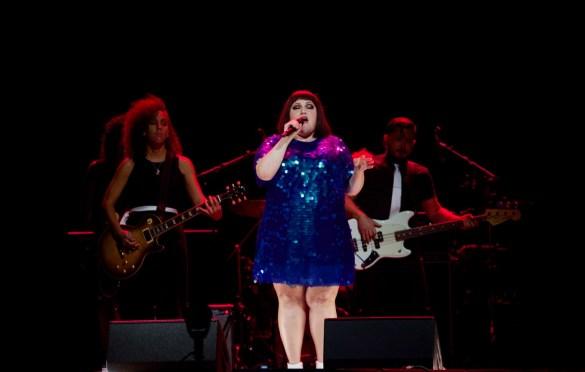Beth Ditto @ Staples Center 8/28/18. Photo by Derrick K. Lee, Esq. (@Methodman13) for www.BlurredCulture.com.