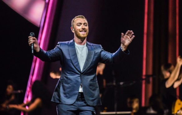 Sam Smith @ Staples Center 8/28/18. Photo by Derrick K. Lee, Esq. (@Methodman13) for www.BlurredCulture.com.