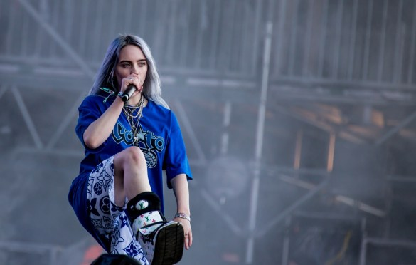 Billie Eilish @ Outside Lands Music And Arts Festival 8/10/18. Photo by Derrick K. Lee, Esq. (@Methodman13) for www.BlurredCulture.com.