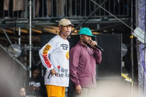 N.E.R.D. @ Outside Lands Music And Arts Festival 8/10/18. Photo by Derrick K. Lee, Esq. (@Methodman13) for www.BlurredCulture.com.