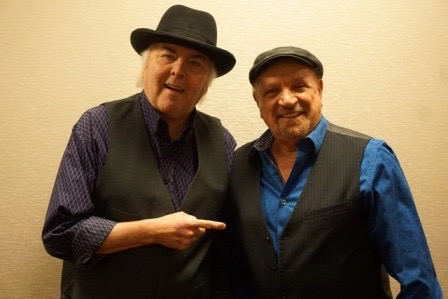 Gene Cornish & Felix Cavaliere. Photo courtesy of the artist. Used with permission.