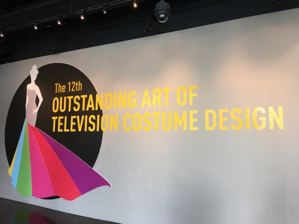 The 12 Outstanding Art of Television Costume Design @ FIDM. Photo by Rose Di Benedetto (@ radgeekyrose) for www.BlurredCulture.com.