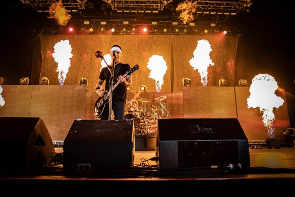Godsmack @ BB&T Pavilion 8/26/18. Photo by Pat Gilrane Photo (@njpatg) for www.BlurredCulture.com.