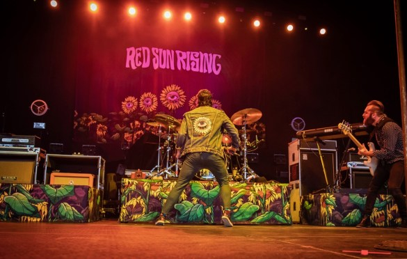 Red Sun Rising @ BB&T Pavilion 8/26/18. Photo by Pat Gilrane Photo (@njpatg) for www.BlurredCulture.com.