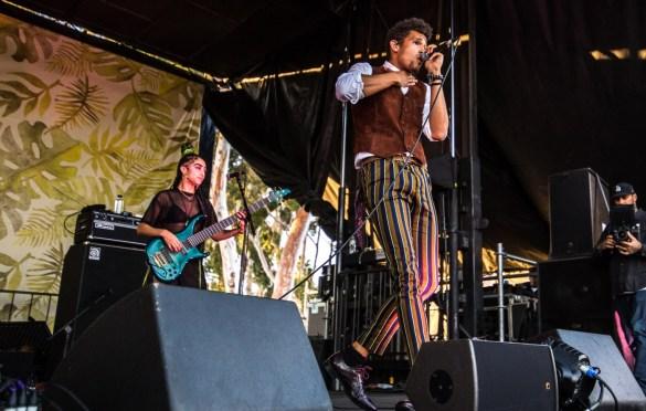 NoMBe @ The Ohana Fest 9/29/18. Photo by Derrick K. Lee, Esq. (@Methodman13) for www.BlurredCulture.com.