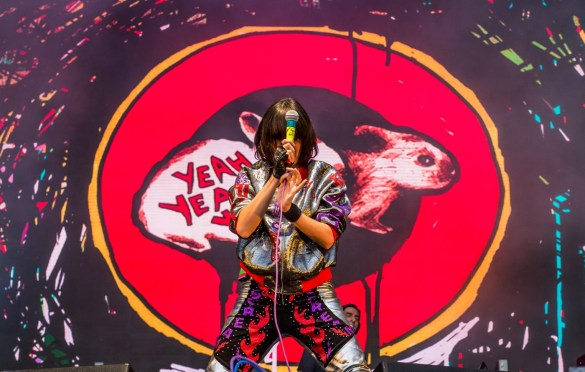 Yeah Yeah Yeahs @ The Ohana Fest 9/29/18. Photo by Derrick K. Lee, Esq. (@Methodman13) for www.BlurredCulture.com.