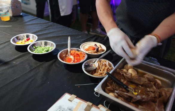 Atmosphere @ Music Tastes Good 9/29/18. Photo by Lisa Mony for Music Tastes Good. Used with permission.