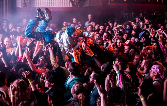 Dorian Electra @ The Billy Ball at the Globe Theatre 11/30/18. Photo by Derrick K. Lee, Esq. (@Methodman13) for www.BlurredCulture.com.