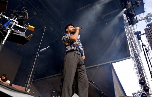 Young The Giant @ The Ohana Fest 9/30/18. Photo by Derrick K. Lee, Esq. (@Methodman13) for www.BlurredCulture.com.