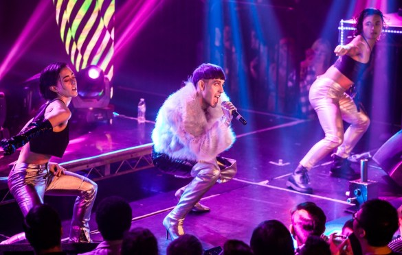 Mood Killer @ The Billy Ball at the Globe Theatre 11/30/18. Photo by Derrick K. Lee, Esq. (@Methodman13) for www.BlurredCulture.com.