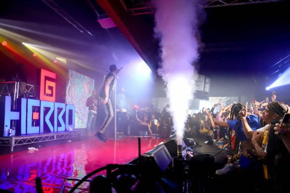 G Herbo @ Union Nightclub 11/7/18. Photo by Alana Hillman (@Lanz.La) for www.BlurredCulture.com.