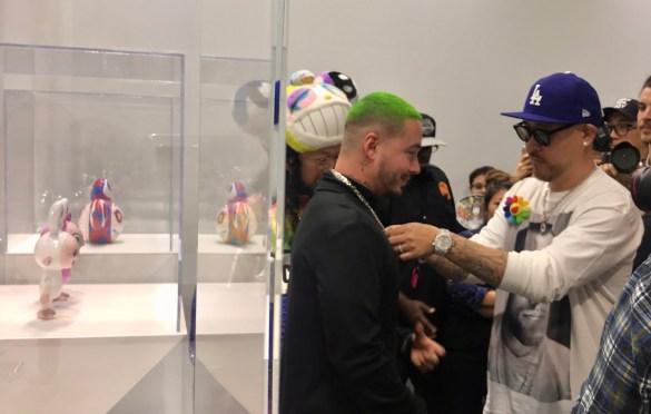 OVO and Takashi Murakami @ ComplexCon 2018. Photo by Markie Escalante (@Markie818) for www.BlurredCulture.com.