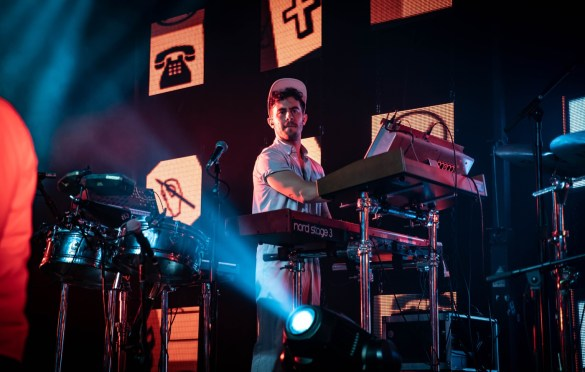 St. Lucia @ Theater of The Living Arts 11/7/18. Photo by Pat Gilrane Photo (@njpatg) for www.BlurredCulture.com.