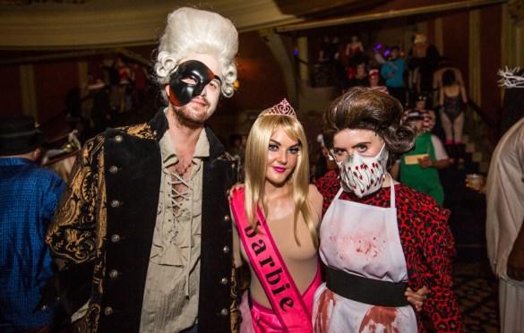 KCRW's Masquerade Ball @ Historic Los Angeles Theatre (Candid) 10/27/18. Photo by Derrick K. Lee, Esq. (@Methodman13) for www.BlurredCulture.com.