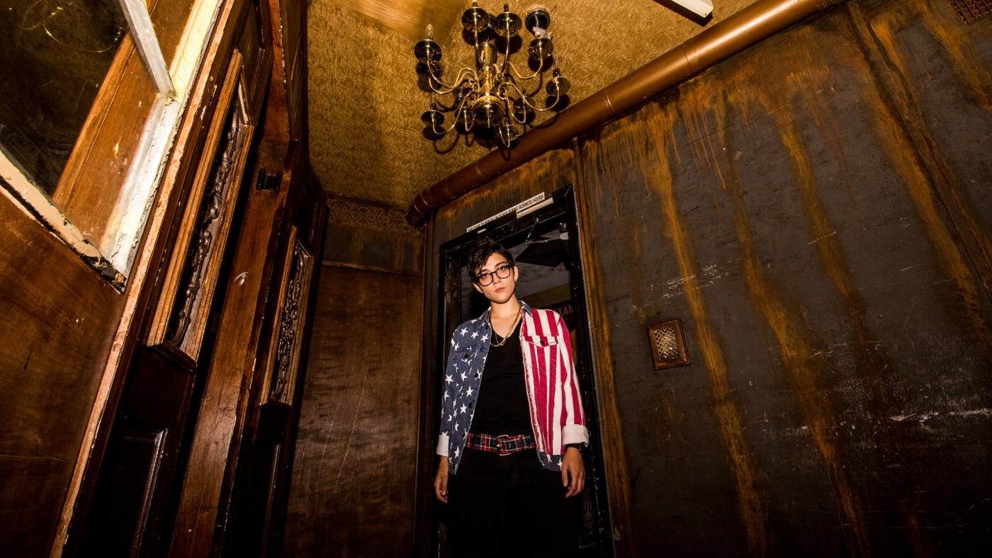 Ryan Cassata (Portrait) @ Madame Siam 11/3/18. Photo by Derrick K. Lee, Esq. (@Methodman13) for www.BlurredCulture.com.