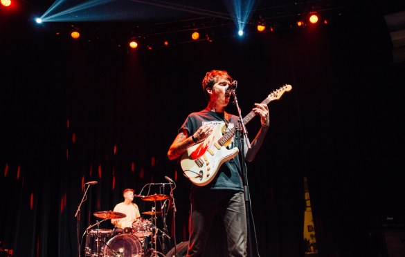 Joyce Manor @ The Palladium 1/19/19. Photo by Ian Zamorano (@UnfollowChamo) for www.BlurredCulture.com.