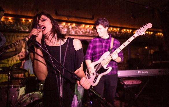 Masha Alexis @ Madame Siam 11/3/18. Photo by Derrick K. Lee, Esq. (@Methodman13) for www.BlurredCulture.com.