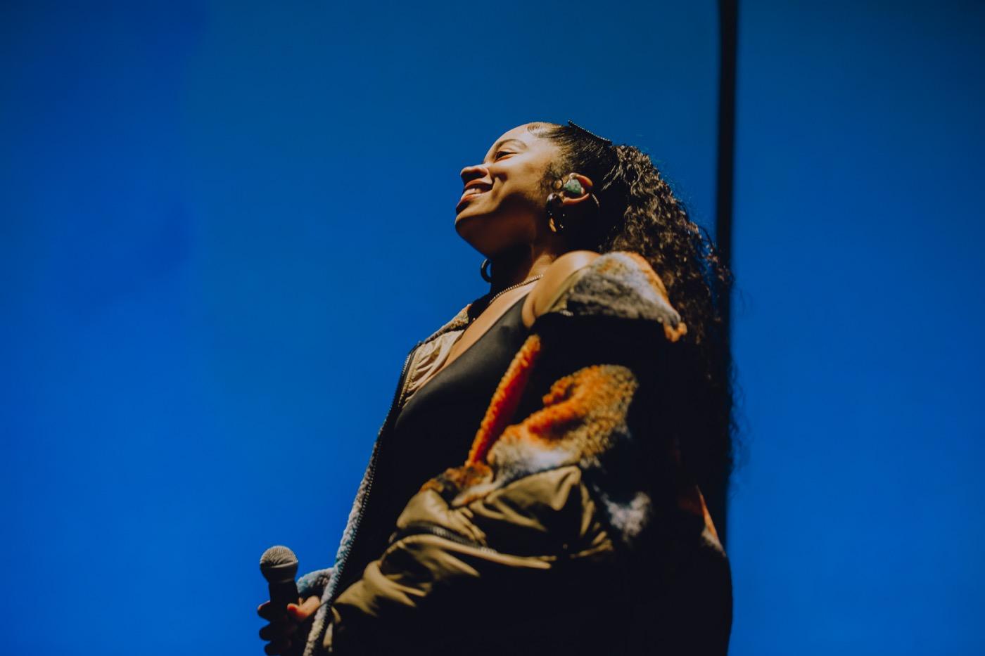 Ella Mai for Soulection Experience @ The Shrine Auditorium 2/2/19. Photo by Summer Dos Santos (@SummerDosSantos) for www.BlurredCulture.com.