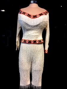 """""""A Diamond in a Rhinestone World: The Costumes of Dolly Parton"""" @ Grammy Museum. Photo by Ruzenka Di Benedetto for www.BlurredCulture.com."""
